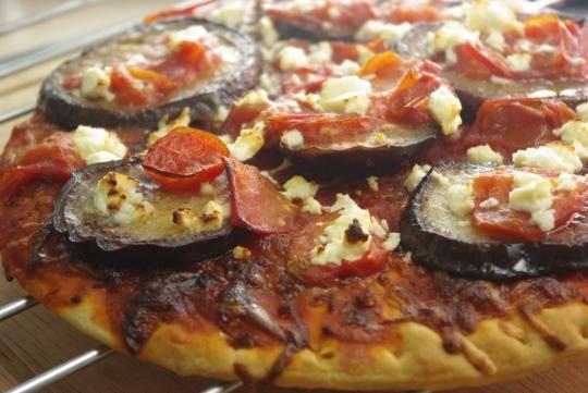 auberginenpizza